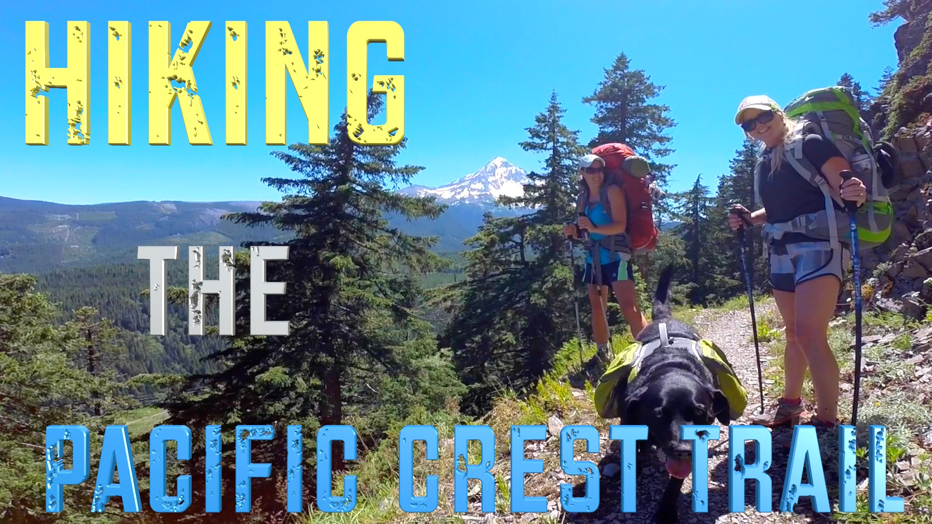 3 days hiking the Pacific Crest Trail